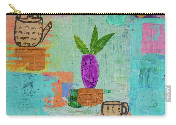The Art Of Tea Two Carry-all Pouch
