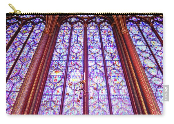 The Awe Of Sainte Chappelle Carry-all Pouch