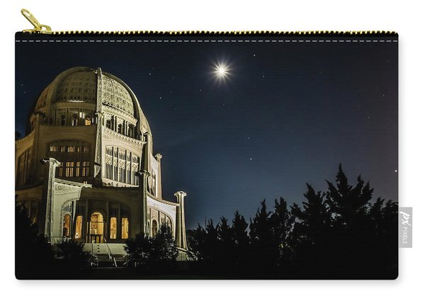 The Bahais Temple On A Starry Night Carry-all Pouch
