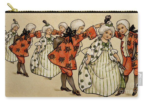 The Ball, Victorian Card Carry-all Pouch
