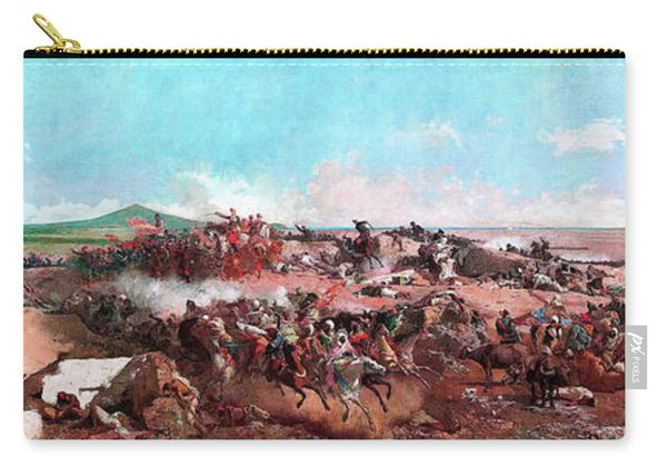 The Battle Of Tetouan - Digital Remastered Edition Carry-all Pouch