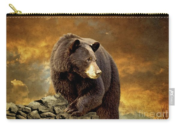 The Bear Went Over The Mountain Carry-all Pouch
