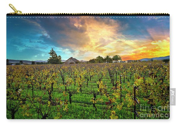 The Beauty Of Napa Carry-all Pouch