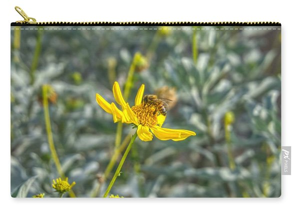 The Bee The Flower Carry-all Pouch