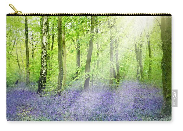 The Bluebell Woods Carry-all Pouch