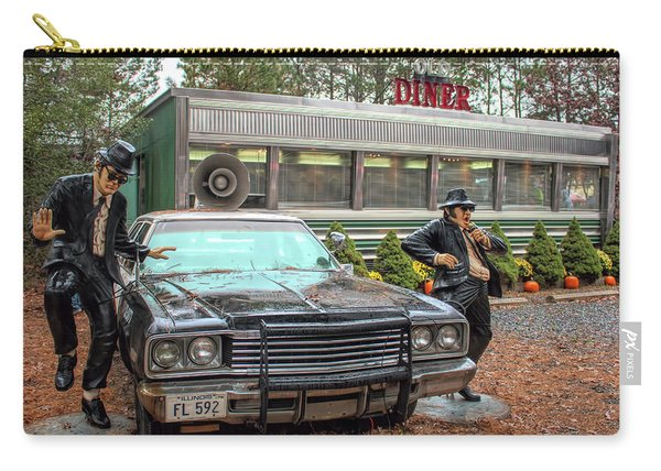 The Blues Brothers At A Diner Carry-all Pouch