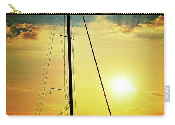 the Boat and the Sky Carry-all Pouch
