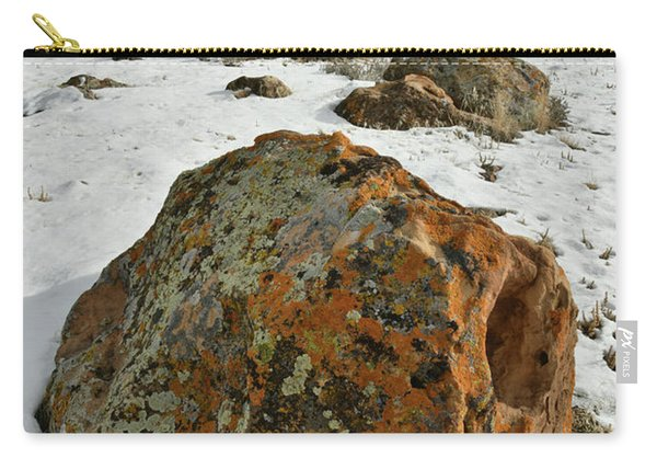 The Book Cliff's Colorful Boulders Carry-all Pouch