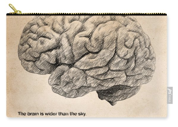The Brain Is Wider Than The Sky Carry-all Pouch