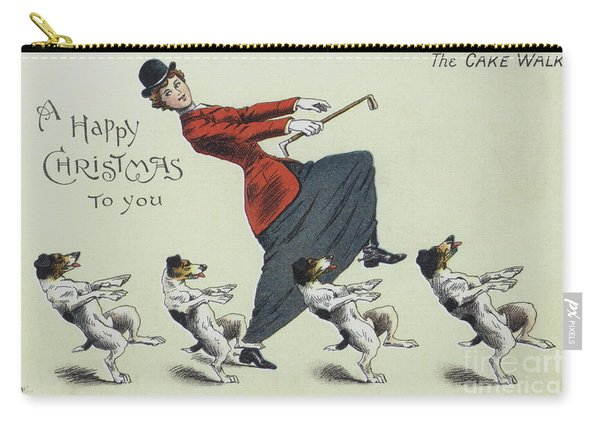 The Cake Walk, With Dogs Carry-all Pouch