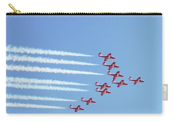 The Canadian Snowbirds Carry-all Pouch