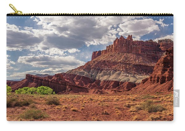 The Castle At Mummy Cliffs Carry-all Pouch