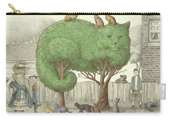 The Cat Tree Carry-all Pouch