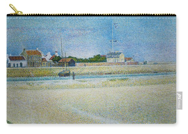 The Channel Of Gravelines Grand Fort Philippe Carry-all Pouch