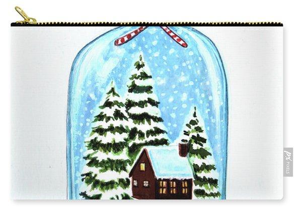 The Christmas Terrarium Carry-all Pouch