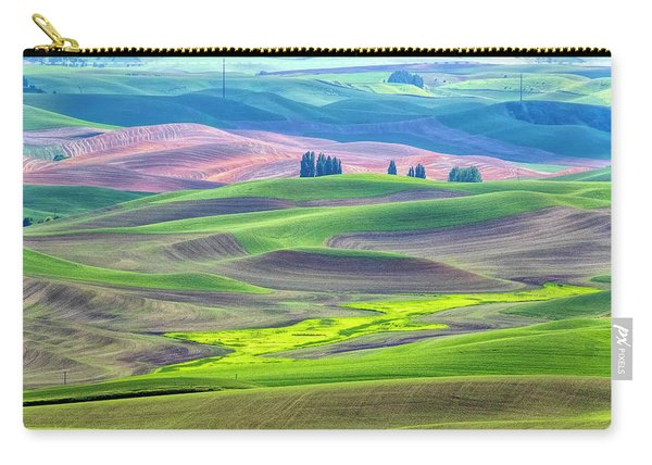 The Color Palette Of The Palouse Carry-all Pouch