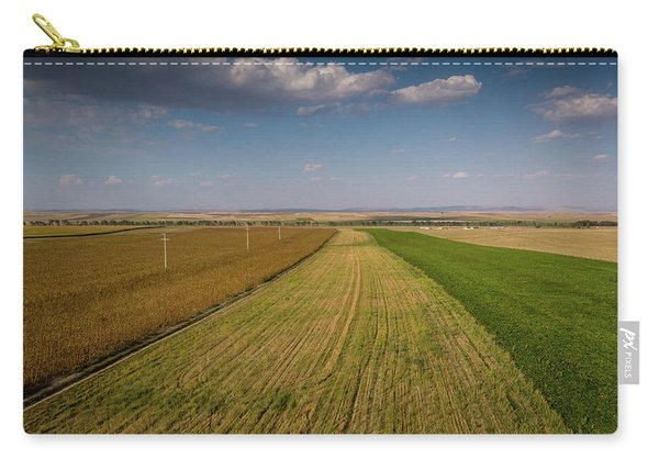 The Colored Fields Carry-all Pouch
