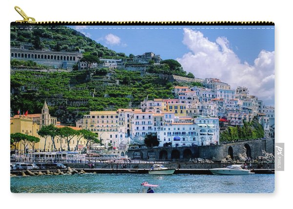 The Colorful Amalfi Coast  Carry-all Pouch