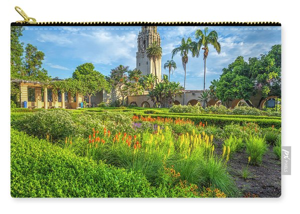 The Colorful Gardens Carry-all Pouch