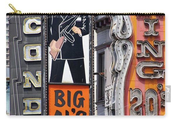 The Condor The Original Big Als And Roaring 20s Adult Strip Clubs On Broadway San Francisco R467 Sq Carry-all Pouch