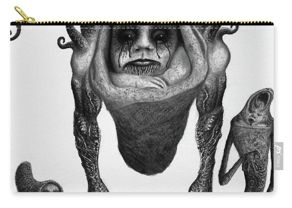 The Corrupted Demon Profile - Artwork Carry-all Pouch