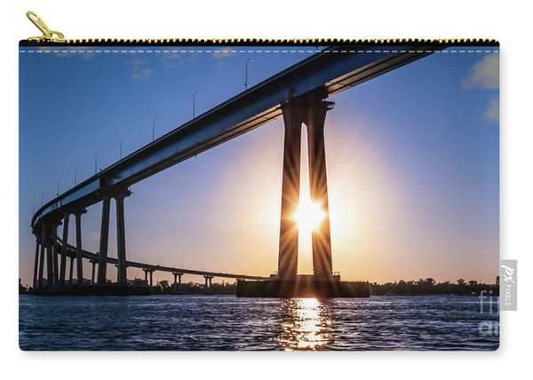 The Curving Beauty Of San Diego Bay Carry-all Pouch