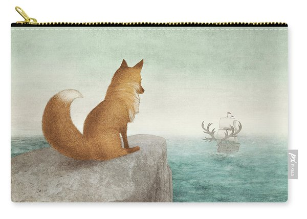 The Day The Antlered Ship Arrived Carry-all Pouch
