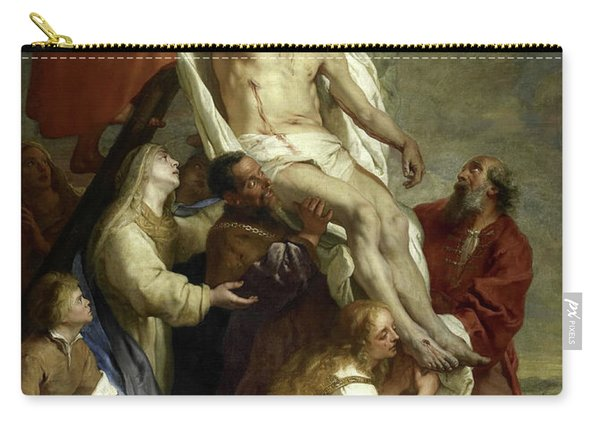 The Descent From The Cross, 1669 Carry-all Pouch