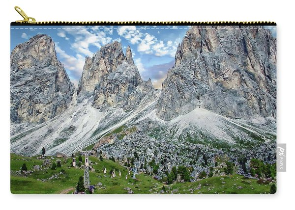 The Dolomites Carry-all Pouch