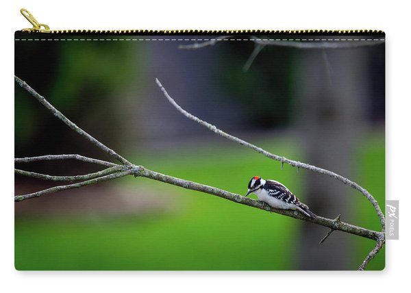 The Downey Woodpecker Carry-all Pouch
