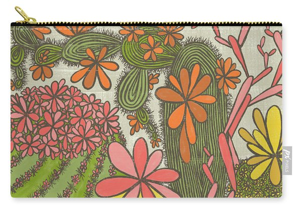 The Earth Laughs In Flowers Ralph Waldo Emerson Quote Carry-all Pouch