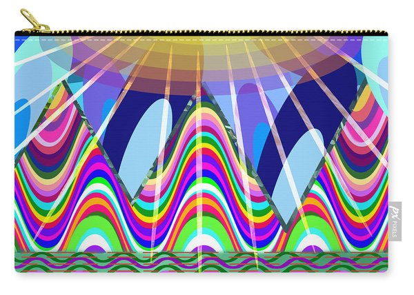 The End Of The Rainbow Carry-all Pouch