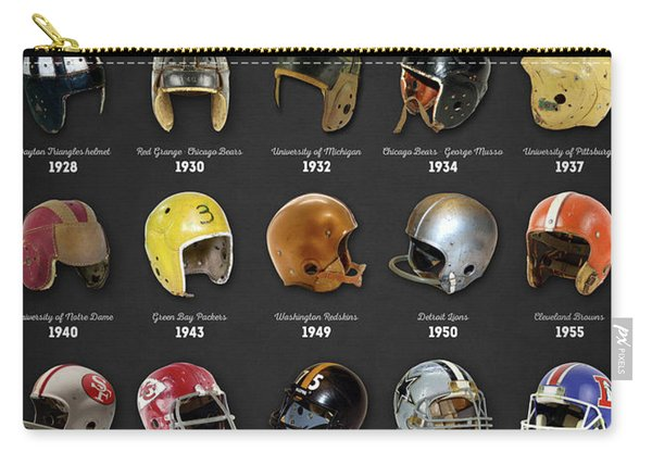 The Evolution Of The Football Helmet Carry-all Pouch