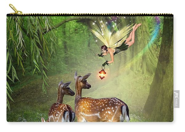 The Fairy Of The Forest Carry-all Pouch