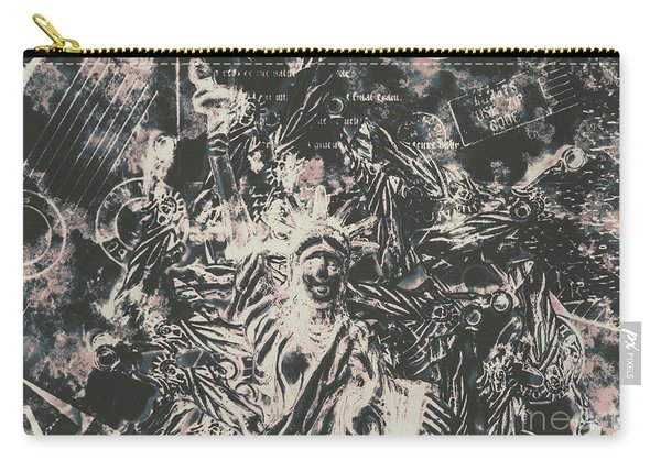 The Fall Of False Idols Carry-all Pouch