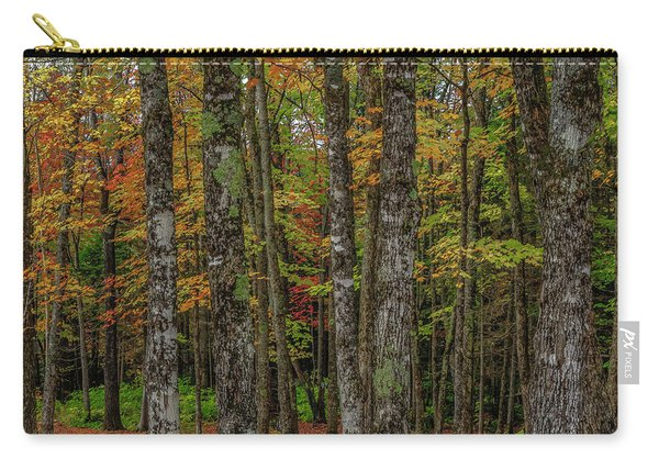 The Fall Woods Carry-all Pouch