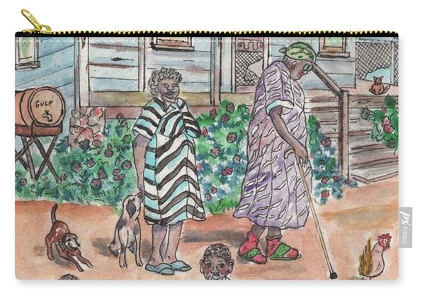 The Family On Magnolia Road Carry-all Pouch