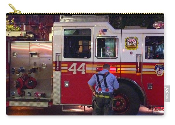 The Fighting Forty Four - F D N Y Fire Engine Carry-all Pouch