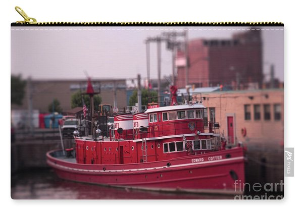 The Fireboat Edward M. Cotter. Carry-all Pouch