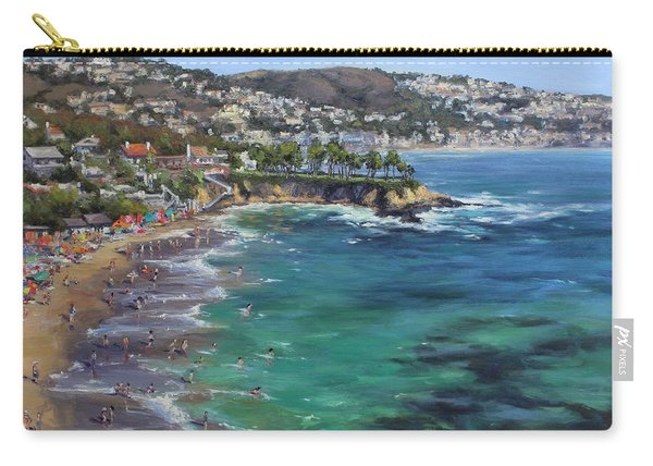 The Fourth Of July At Crescent Beach, California Carry-all Pouch