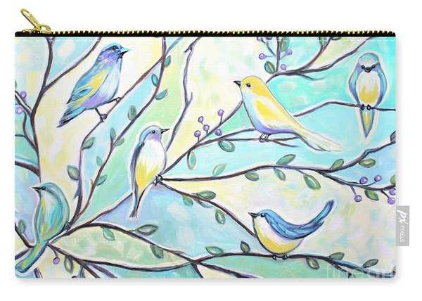 The Glass Birds Carry-all Pouch