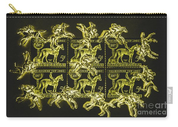 The Golden Race Carry-all Pouch