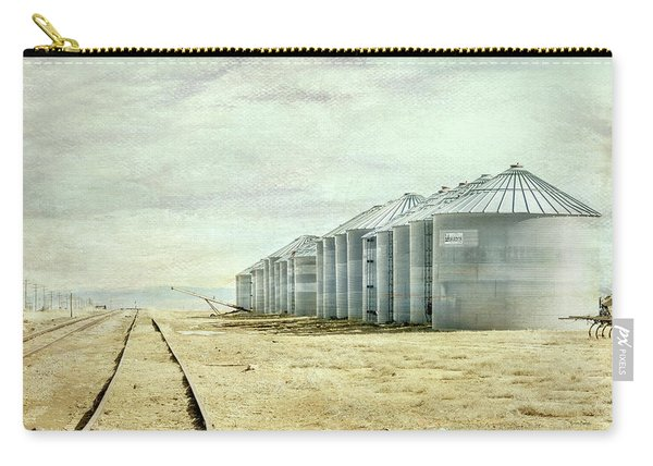 The Grain Bins At Taber Carry-all Pouch