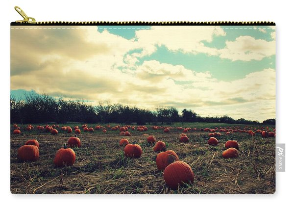 Carry-all Pouch featuring the photograph The Great Pumpkin by Candice Trimble