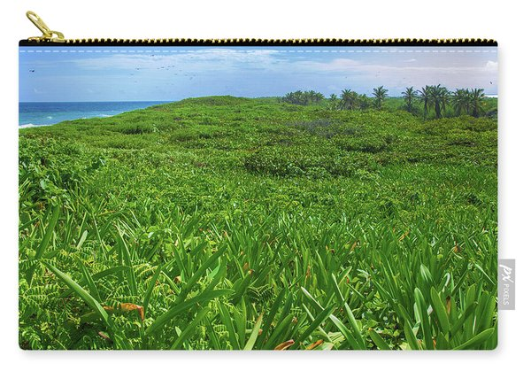 The Green Island Carry-all Pouch