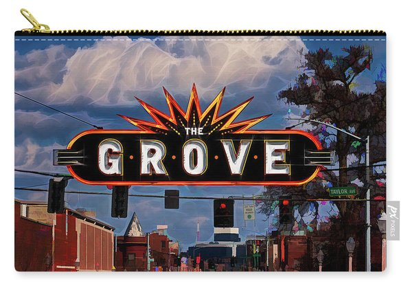The Grove Carry-all Pouch