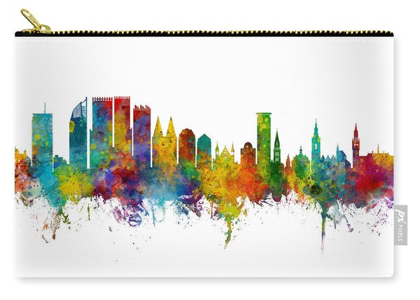 The Hague Netherlands Skyline Carry-all Pouch
