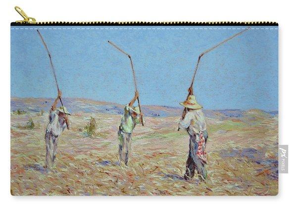 The Haymakers - Pierre Van Dijk 70x90cm Oil Carry-all Pouch