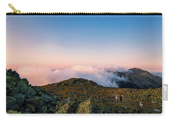 Carry-all Pouch featuring the photograph The Hiker - Mt Jefferson, Nh by Jeff Sinon