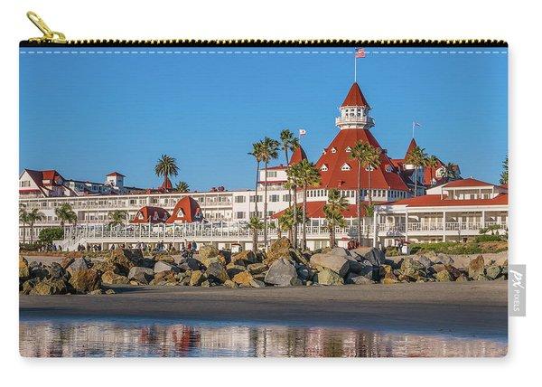 The Hotel Del Coronado San Diego Carry-all Pouch
